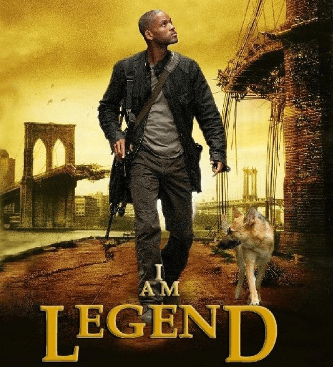 I am legend movies with Will Smith