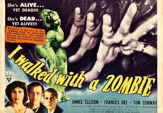 Val lewton's I walked with a zombie