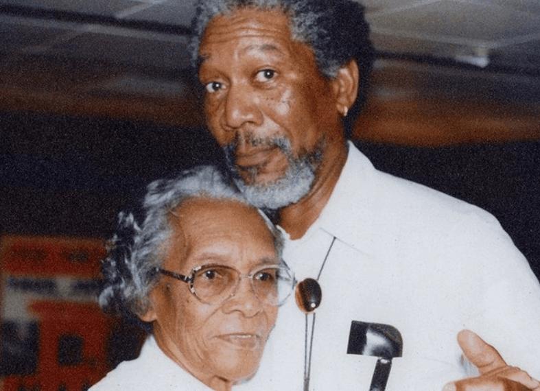 Morgan Freeman mother