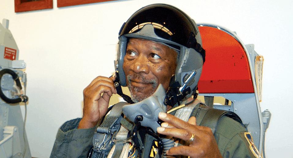 Morgan Freeman the pilot