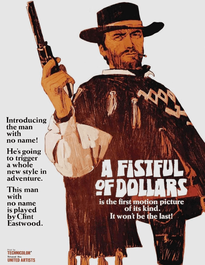 a fistful of dollars clint eastwood movies