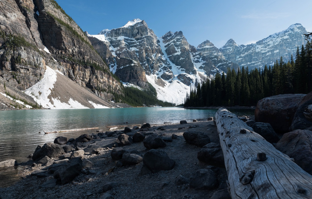 One of the movie locations in Alberta Canada