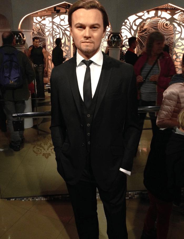 Leonardo DiCaprio in Madame Tussauds in London