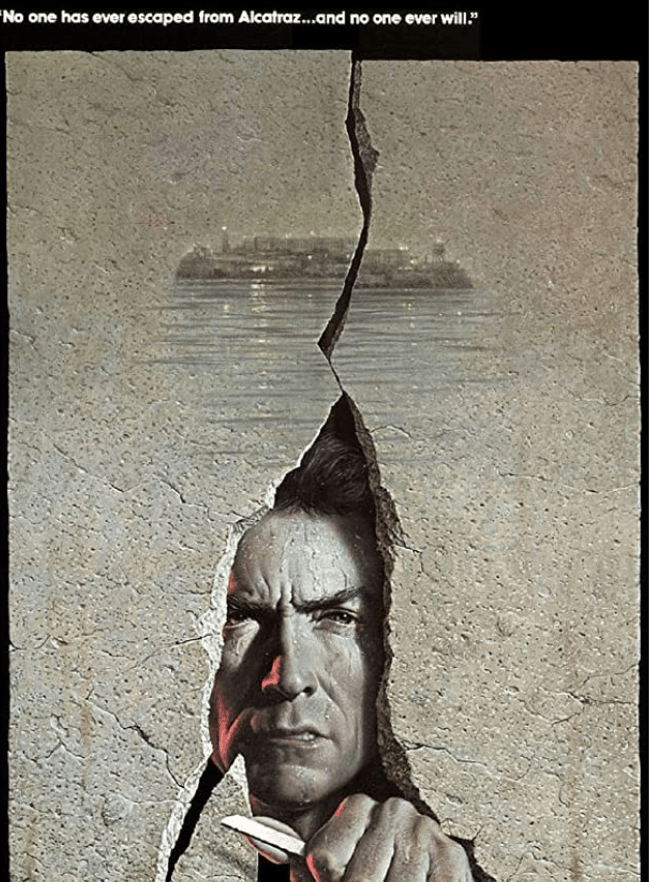 Escape from Alcatraz Clint Eastwood