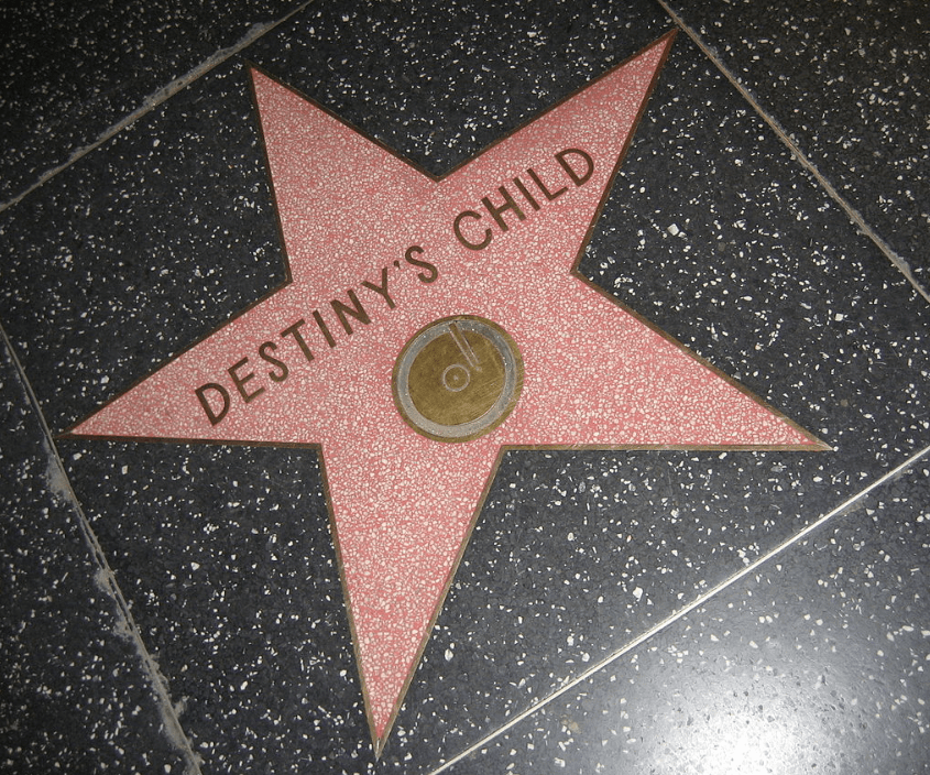 Hollywood Walk Of Fame / Destiny's Child Star