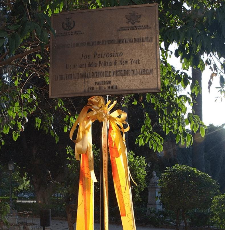 Petrosino Memorial in Palermo