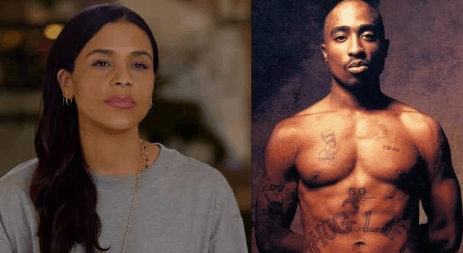 Kidada Jones and Tupac