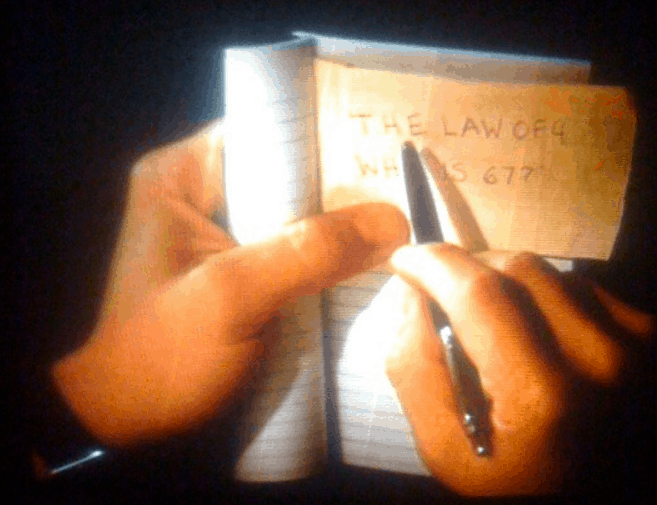 The Parker Jotter pen used in Shutter Island