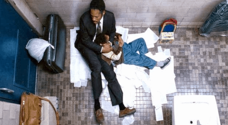 Pursuit of happyness homeless