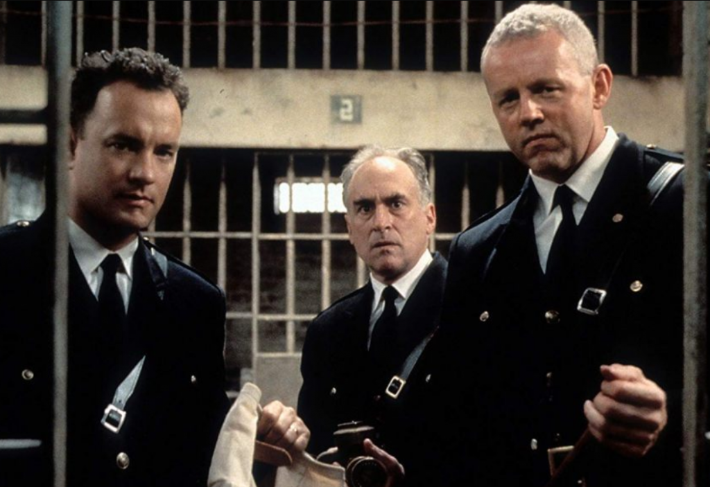 The green mile uniforms