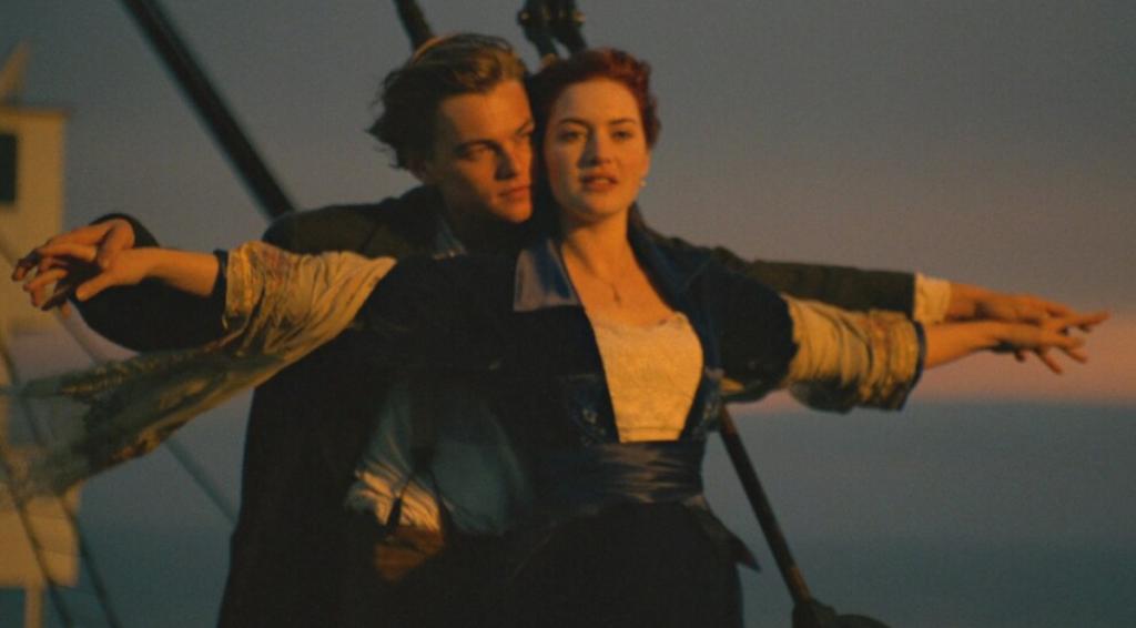 Titanic iconic scene